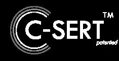Logotipo blanco C-Sert_SW